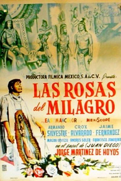 Caratula, cartel, poster o portada de Las rosas del milagro