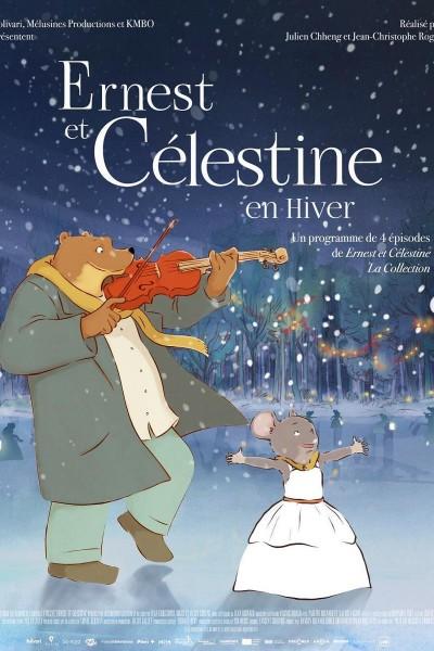 Caratula, cartel, poster o portada de Ernest y Celestine, cuentos de invierno
