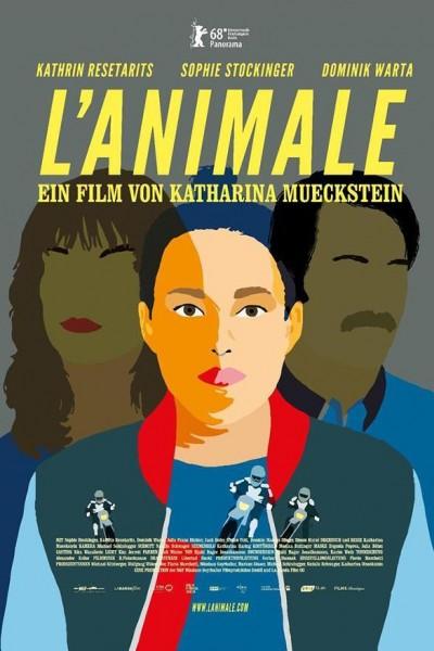 Caratula, cartel, poster o portada de L\'animale