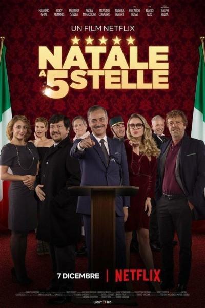 Caratula, cartel, poster o portada de Navidad 5 estrellas