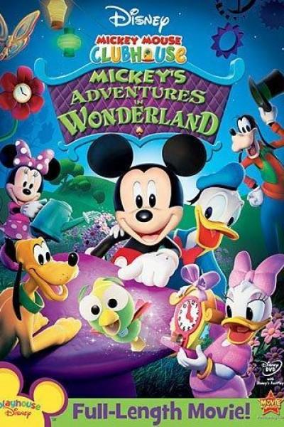 Caratula, cartel, poster o portada de Mickey en el País de las Maravillas