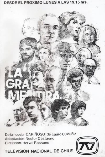 Caratula, cartel, poster o portada de La gran mentira