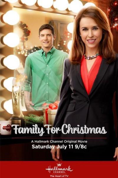 Caratula, cartel, poster o portada de Navidad en familia