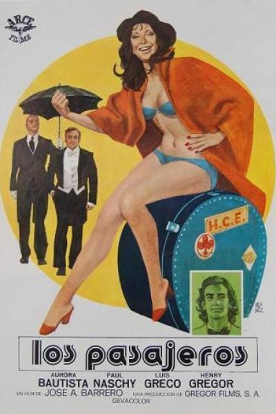 Caratula, cartel, poster o portada de Los pasajeros