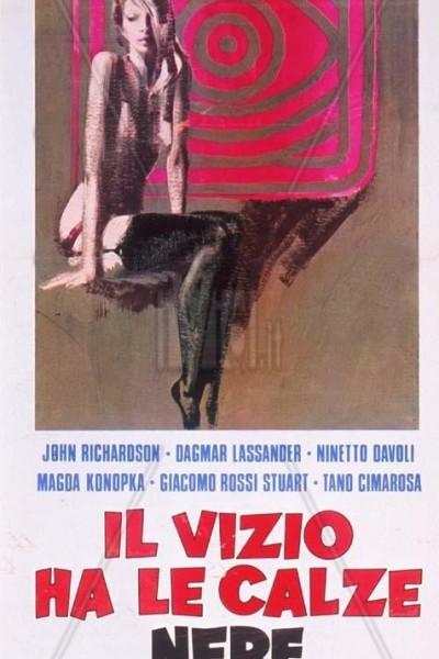 Caratula, cartel, poster o portada de El vicio tiene medias negras