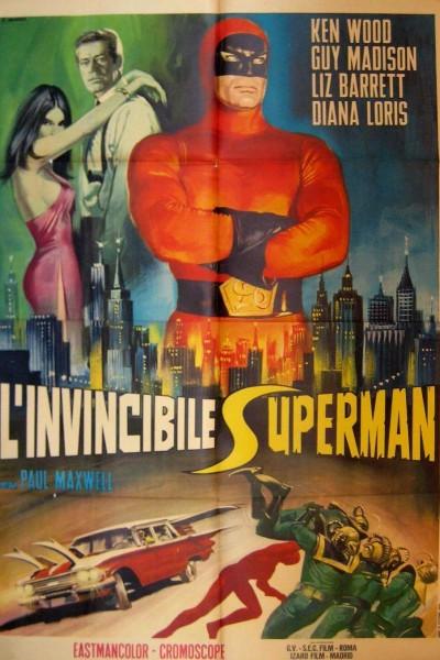 Caratula, cartel, poster o portada de Superargo, el gigante