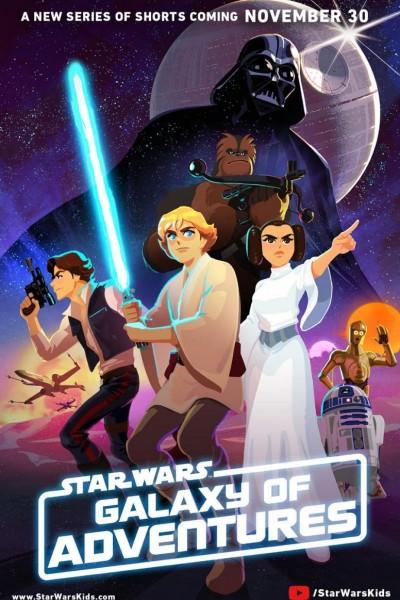 Caratula, cartel, poster o portada de Star Wars: Galaxy of Adventures