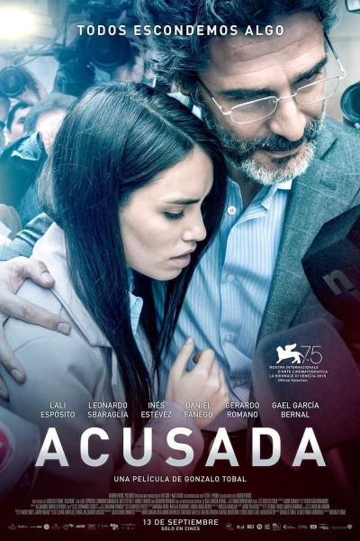 Caratula, cartel, poster o portada de Acusada