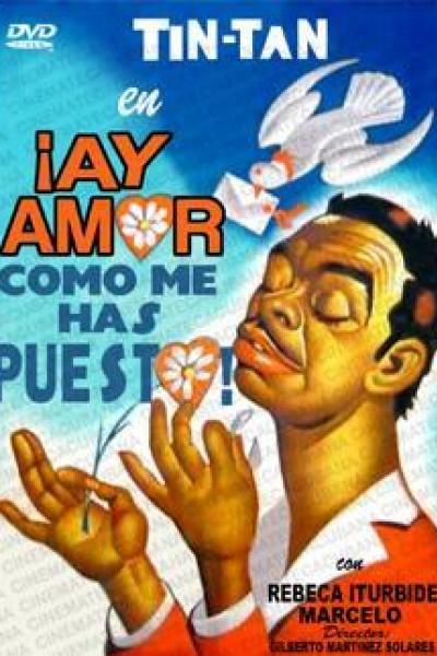 Caratula, cartel, poster o portada de ¡Ay amor... cómo me has puesto!