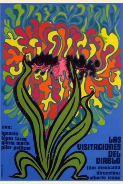 Caratula, cartel, poster o portada de Las visitaciones del diablo