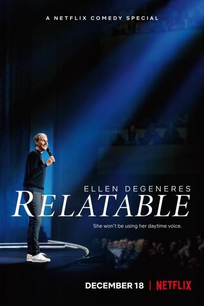 Caratula, cartel, poster o portada de Ellen DeGeneres: Relatable