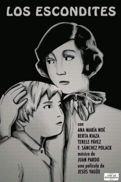 Caratula, cartel, poster o portada de Los escondites
