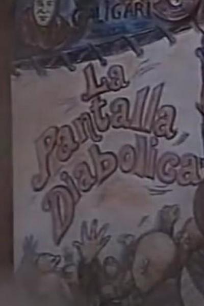 Caratula, cartel, poster o portada de La pantalla diabólica