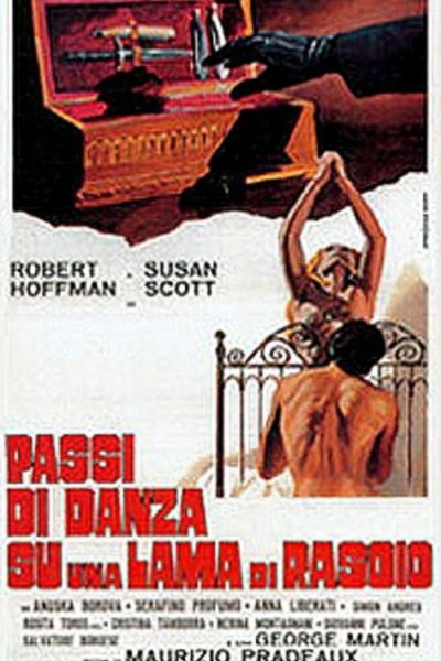 Caratula, cartel, poster o portada de Pasos de danza sobre el filo de una navaja