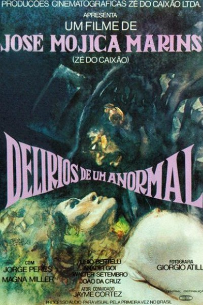Caratula, cartel, poster o portada de Delirios de un anormal