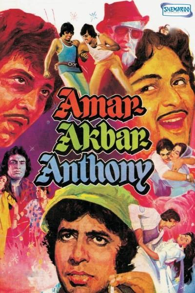 Caratula, cartel, poster o portada de Amar Akbar Anthony