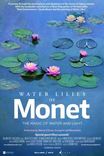 Caratula, cartel, poster o portada de Los nenúfares de Monet