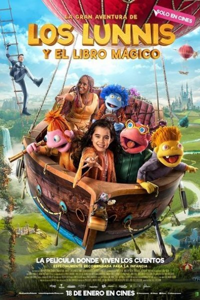 Caratula, cartel, poster o portada de La gran aventura de Los Lunnis y el Libro Mágico