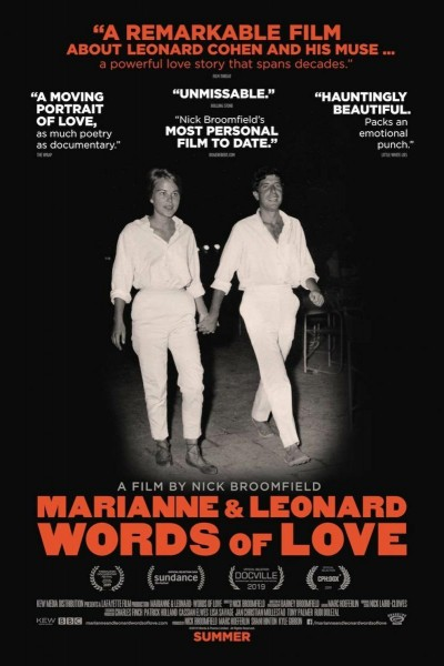 Caratula, cartel, poster o portada de Marianne & Leonard: Words of Love
