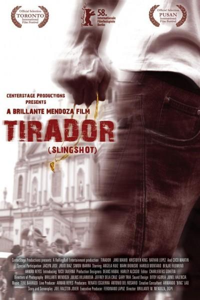 Caratula, cartel, poster o portada de Tirador (Slingshot)