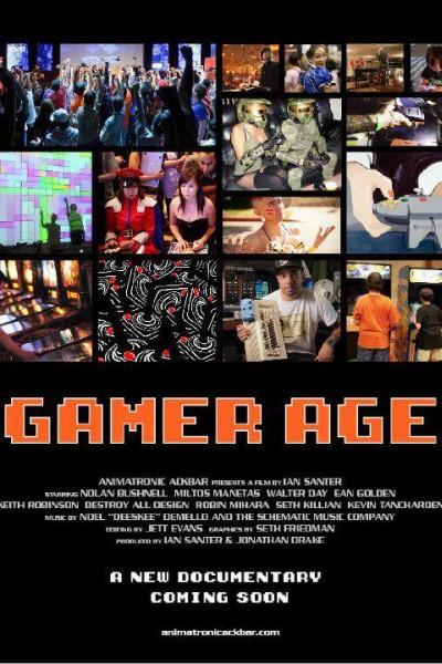 Caratula, cartel, poster o portada de Gamer Age