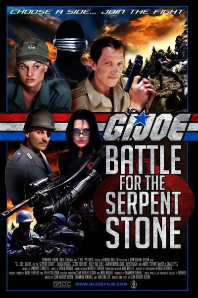 Caratula, cartel, poster o portada de G.I. Joe: Battle for the Serpent Stone