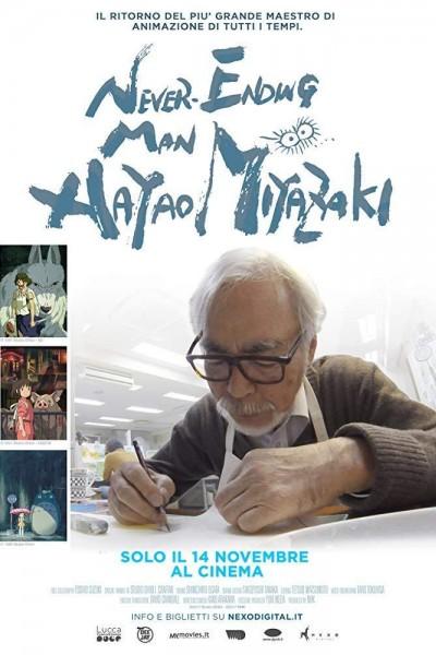 Caratula, cartel, poster o portada de Never-Ending Man: Hayao Miyazaki