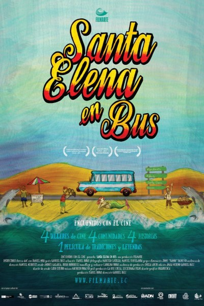 Caratula, cartel, poster o portada de Santa Elena en bus