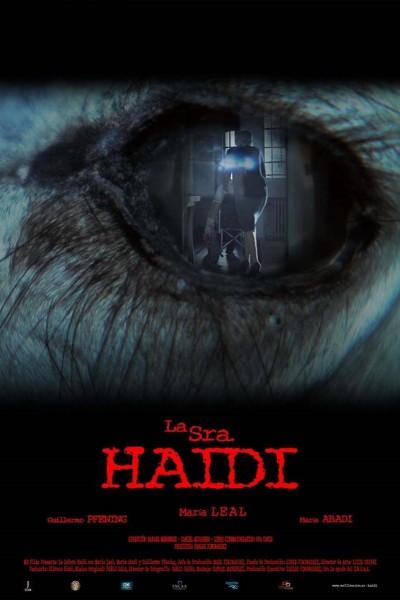 Caratula, cartel, poster o portada de La señora Haidi