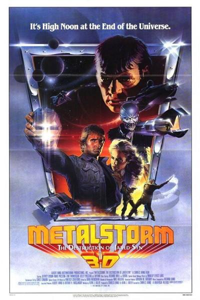 Caratula, cartel, poster o portada de Metalstorm
