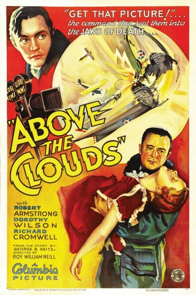 Caratula, cartel, poster o portada de Above the Clouds