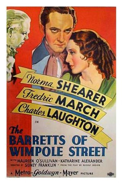 Caratula, cartel, poster o portada de Las vírgenes de Wimpole Street