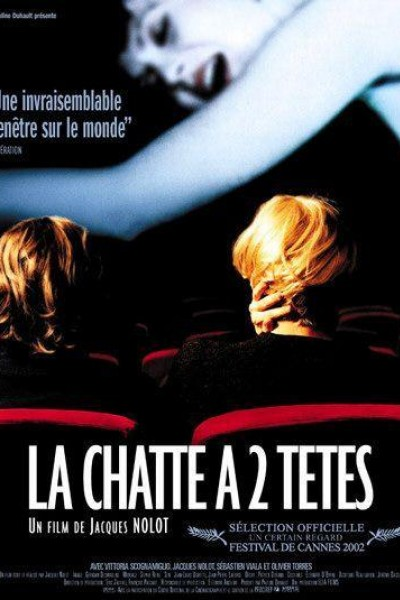 Caratula, cartel, poster o portada de La Chatte à deux têtes