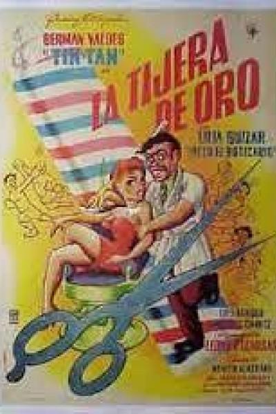 Caratula, cartel, poster o portada de La tijera de oro