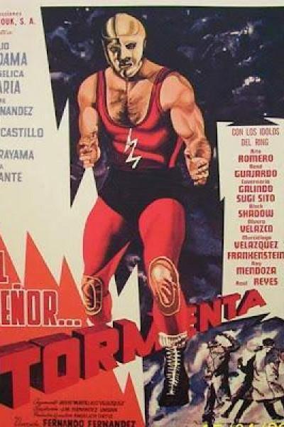 Caratula, cartel, poster o portada de El señor Tormenta