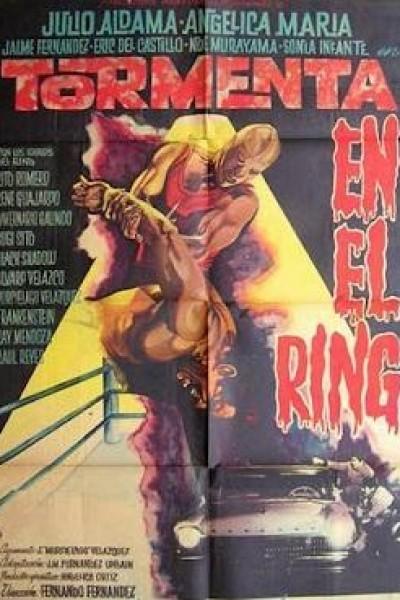 Caratula, cartel, poster o portada de Tormenta en el ring