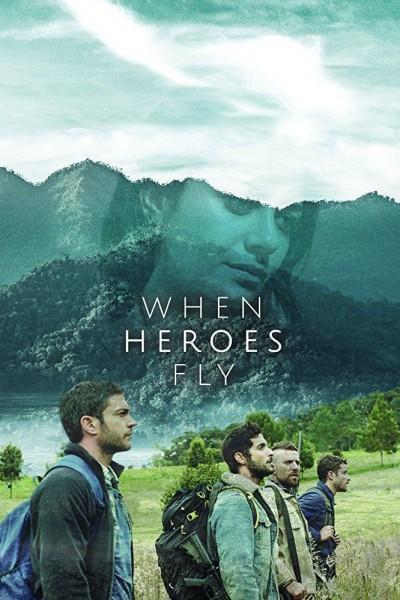 Caratula, cartel, poster o portada de Cuando los héroes vuelan