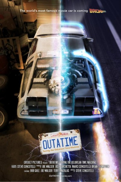 Caratula, cartel, poster o portada de Outime: Saving the DeLorean Time Machine