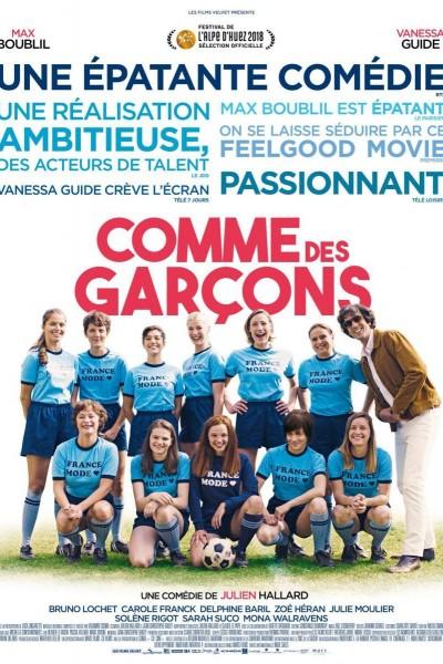 Caratula, cartel, poster o portada de Que jueguen las chicas