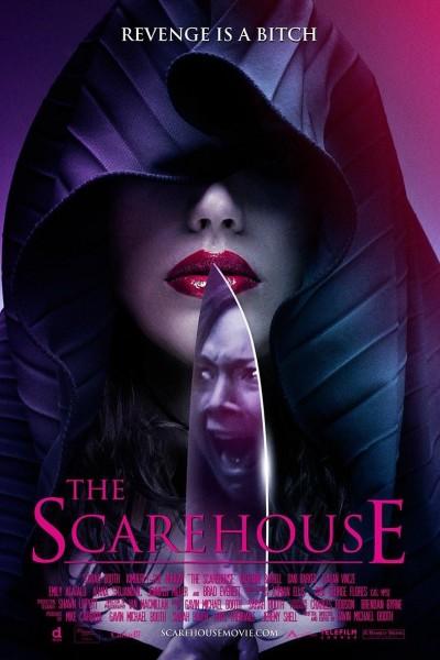 Caratula, cartel, poster o portada de The Scarehouse