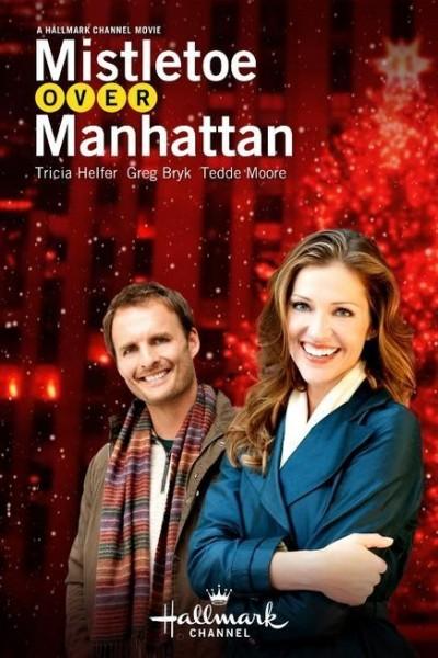 Caratula, cartel, poster o portada de Muérdago sobre Manhattan