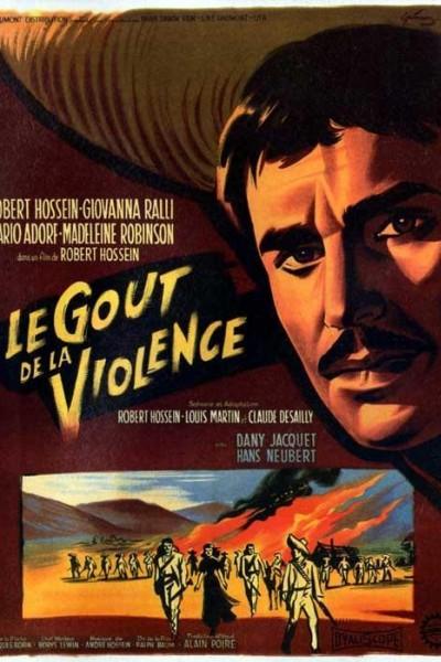 Caratula, cartel, poster o portada de El sabor de la violencia