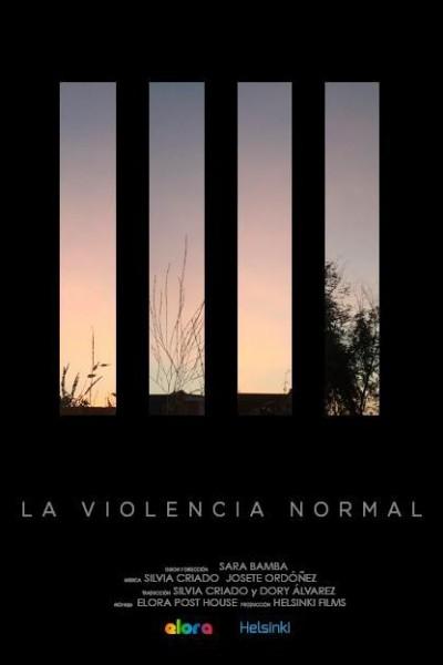 Caratula, cartel, poster o portada de La violencia normal