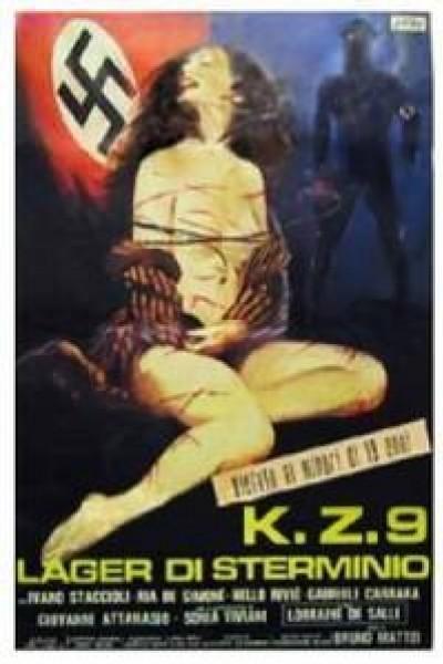 Caratula, cartel, poster o portada de SS Campo de sexo y violencia