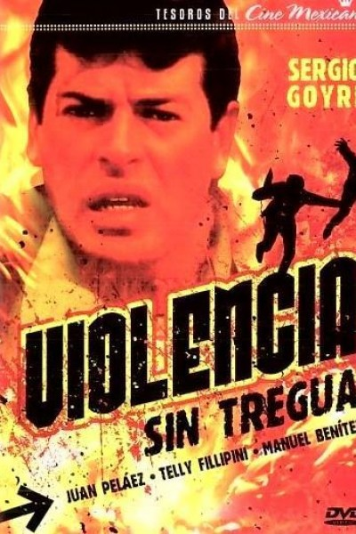 Caratula, cartel, poster o portada de Violencia sin tregua