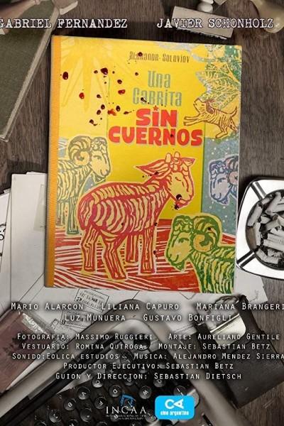 Caratula, cartel, poster o portada de Una cabrita sin cuernos