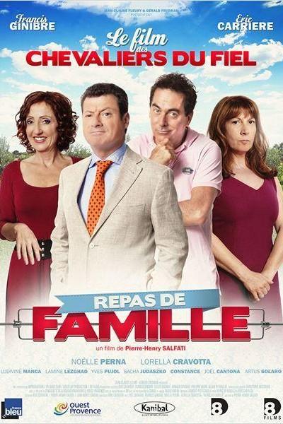Caratula, cartel, poster o portada de Repas de famille