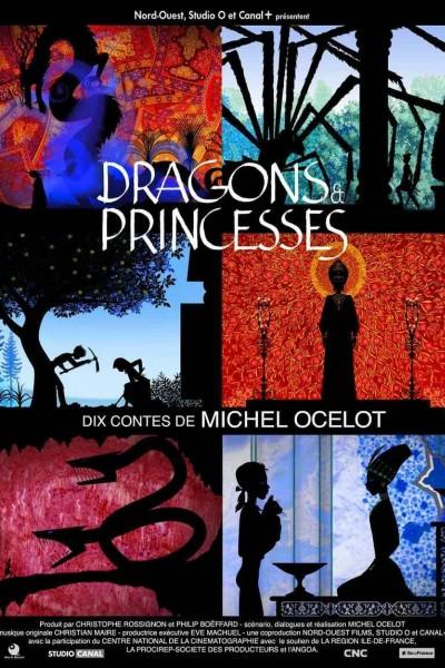 Caratula, cartel, poster o portada de Dragons et princesses