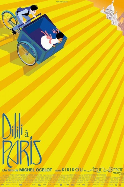 Caratula, cartel, poster o portada de Dilili in Paris