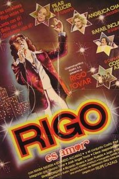 Caratula, cartel, poster o portada de Rigo es amor